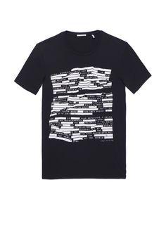 Tee-shirt noir homme IKKS | Mode Tee-shirt Automne Hiver