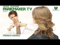 How to create a great evening hair style. Anna Godovan parikmaxer tv english version - YouTube Medium Long Haircuts, Layered Haircuts, Cool Haircuts, Hairstyles Haircuts, Long Layered Hair, Long Hair Cuts, Wavy Hair, Hair Cutting Techniques, Evening Hairstyles