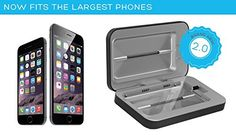 Amazon.com: PhoneSoap 2.0 UV Sanitizer and Universal Phone Charger - Now Fits iPhone 6s Plus and Phablets (Black): Cell Phones & Accessories