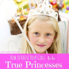 Princesses are super popular for little girls. Why not teach your daughter how to walk like a TRUE princess and reflect the virtues of her One, True King? Heart-to-heart tips to help you mold your daughter into a true princess and encouragement for you to walk like a Queen! #princesses #parenting www.pintsizedtreasures.com