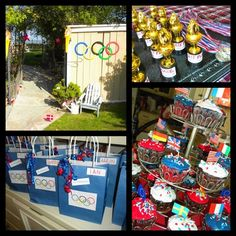 an olympic Theme Party