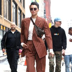 Kendall Jenner Just Out Menswear-ed Every Menswear Dude | GQ