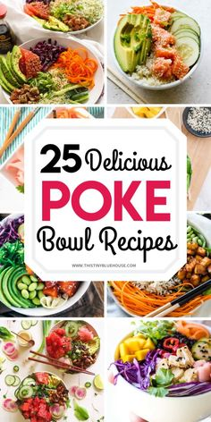 Fish Recipes, Asian Recipes, Healthy Recipes, Poke Bol, Meal Planning, Bowls, Dinner Recipes, Easy Meals, Healthy Eating