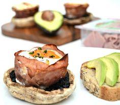Brunch Recipe: Turkey Ham and Egg Cups with Grilled Mushroom | Lilinha Angel's World - UK Parenting Lifestyle Blog