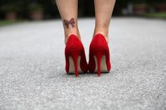 Bow tattoos designs pic