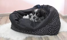 Bean Bag Chair, Etsy Shop, Furniture, Decor, Cuddling, Guys, Wood Dog Bed, Sleepsack, Black
