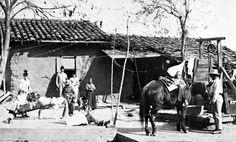 California History - Santa Barbara - Presidio of Santa Barbara - 1880