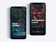 Custom tour discovery app - Daily UI Challenge 32/365