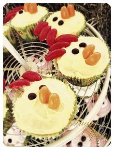 farm cupcakes - birthday party gold coast