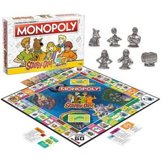 Monopoly Money, Monopoly Board, Monopoly Game, Baby Disney Characters, Nintendo Characters, Classic Board Games, Fun Board Games, Scooby Doo Games, Play Money