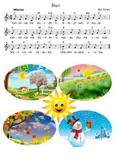 4 εποχές-four seasons Seasons Activities, Spring Activities, Activities For Kids, Diy And Crafts, Crafts For Kids, Weather Seasons, Cardboard Art, Kids Songs, Four Seasons