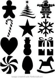 Resultado de imagen para stencils navideños