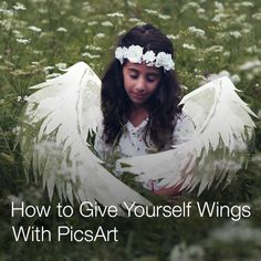 Give Yourself Wings With the Photo Editor