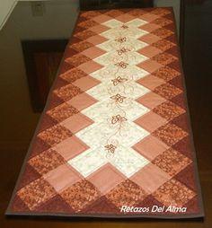 diseño de caminos de mesa en patchwork - Buscar con Google