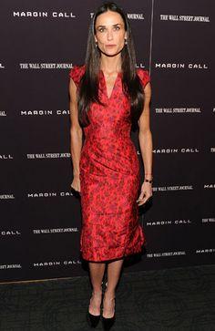Demi's red dress