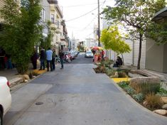 Remodeled Linden Alley in San Francisco