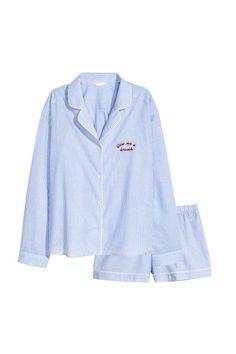 f84a2cd0a9 Pyjama shirt and shorts