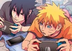 Naruto Comic, Naruto Shippuden Sasuke, Sasunaru, Anime Naruto, Sasuke And Naruto Love, Naruto Run, Naruto And Sasuke Wallpaper, Sasuke Vs, Naruto Fan Art