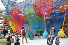 More: Toshiko Horiuchi-MacAdam crochets a playground in Japan