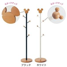 Mickey Disney Clothes Hanger Stand - Japan