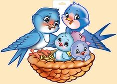 Art Drawings For Kids, Cute Animal Drawings, Bird Drawings, Drawing For Kids, Cute Drawings, Art For Kids, Halloween Party Activities, Cartoon Caracters, Stick Figure Drawing