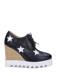 SHARE & Get it FREE | Star Pattern Lace-Up Wedge ShoesFor Fashion Lovers only:80,000+ Items • New Arrivals Daily Join Zaful: Get YOUR $50 NOW!