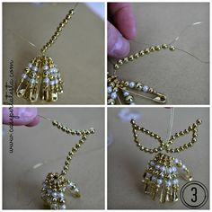 Come fare gli angioletti di perline * DIY beads angels