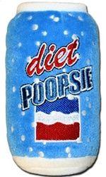 Diet Poopsie Plush Squeak Toy! $10.00  www.poshpuppyboutique.com