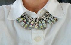 DIY Wire Necklace : DIY Tribal Necklace