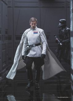 That cape got me all hot and bothered. Director Krennic got some serious swag!