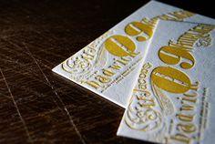 letterpress calender