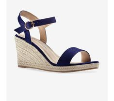 Sandále na lykovom kline Leto, Espadrilles, Wedges, Shoes, Fashion, Espadrilles Outfit, Moda, Zapatos, Shoes Outlet