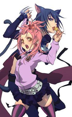 Ikuto and Amu - Shugo Charaby ~nozokiDAVIS