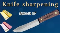 Sharpening Stone, Knife Sharpening, Old Hickory, Kitchen Knives, Ontario, The Creator, Presentation, Stones, Rocks