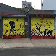 Nick Walker in NYC, 2020 Nick Walker, Graffiti, Street Art, Garage Doors, Nyc, Outdoor Decor, Home Decor, Decoration Home, Room Decor