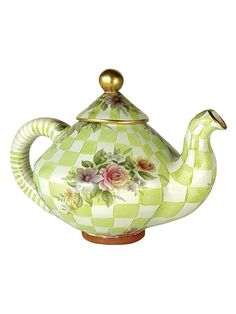 MacKenzie-Childs - Honeymoon Teapot