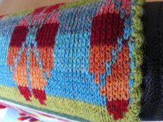 Opskrift – Tungekant strikket på mit tæppe