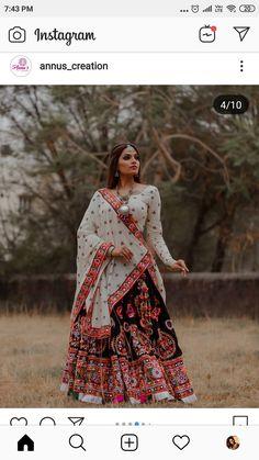 Garba Dress, Navratri Dress, Choli Dress, Bridal Lehenga Choli, Ghagra Choli, Lehenga Skirt, Indian Attire, Indian Outfits, Indian Dresses