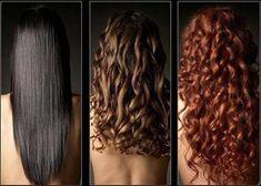 Волосы, окрашенные хной в разные оттенки