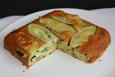 Pastel invisible de calabacin - Las recetas de Mabel Mendez