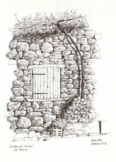 Window City Photo, Saints, Sketches, Window, Urban, Drawings, Windows, Doodles, Sketch