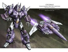 War for Cybertron - Cyclonus