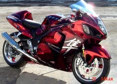 Red Chrome HAYABUSA