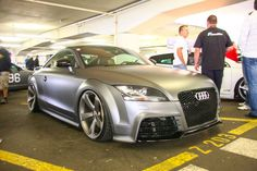 Audi TT RS in grey matte