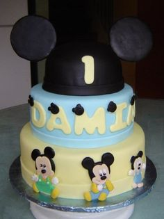 Mickey Mouse 1st Birthday Cake - Cake Decorating Community - Cakes We ..., 449x600 in 39.2KB