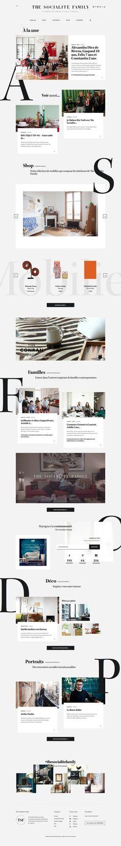 Beautiful web layout