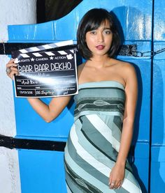 Sayani Gupta at 'Baar Baar Dekho' wrap-up bash. Baar Baar Dekho, Lights Camera Action, Katrina Kaif, Film Industry, Bollywood Fashion, Actors & Actresses, Wrapping, Strapless Dress, Shots