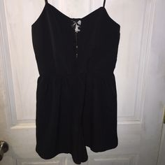 romper black romper with lace details Wet Seal Other