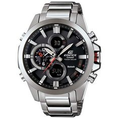 Men's Casio Edifice Tough Solar Stainless Steel Watch - Item 19590132 | REEDS Jewelers