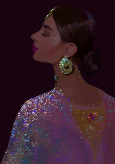 Princess of House Velantis Indian Aesthetic, Aesthetic Art, Modern Indian Art, Indian Illustration, Indian Photoshoot, Arte Sketchbook, Indian Art Paintings, India Art, Digital Art Girl
